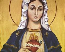 A Imaculada Conceição de Maria (por Gilberto Cunha)