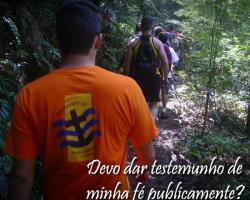 Caminho para Deus 233 – Devo dar testemunho de minha fé publicamente?