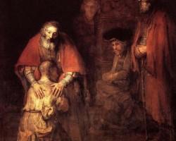 """XXIV DOMINGO DO TEMPO COMUM: """"Vamos fazer um banquete. Porque este meu filho estava morto e tornou a viver; estava perdido e foi encontrado'!"""""""