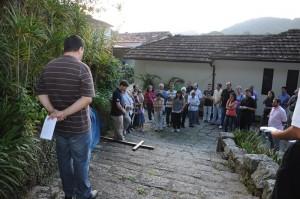 povo e a cruz