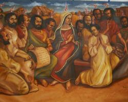 """Domingo de Pentecostes: """"Ficaram cheios do Espírito Santo e começaram a falar"""""""