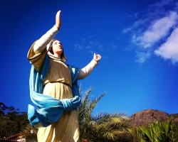 O Senhor Jesus e Santa Maria, modelos de humanidade reconciliada nos mistérios gloriosos