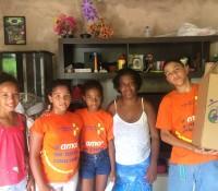 Entregas da Campanha Natal é Jesus no Rio e em Petrópolis