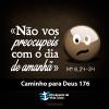 Caminho para Deus 176:   «Buscai o Reino de Deus e tudo o mais vos será dado por acréscimo»