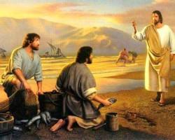 """V DOMINGO DO TEMPO COMUM: """"'Não tenhas medo! De hoje em diante tu serás pescador de homens."""""""