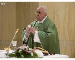 Papa Francisco: o Espírito impele a Igreja, doutrinas e ideologias apenas encantam