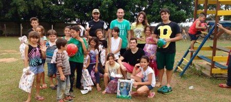 MVC Aparecida - Dia das crianças do projeto no João Daniel